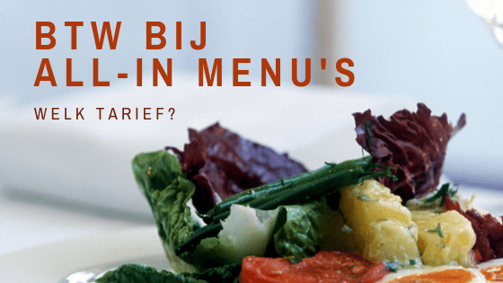 btw-bij-menu's